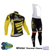 Wholesale Ropa Hombre Hot Men - 2017 hot Winter thermal fleece cycling jerseys mtb bike clothes winter cycling clothing bicycle sportwear ropa ciclismo invierno hombre