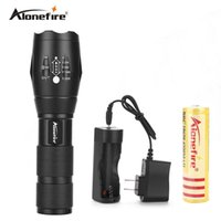 Wholesale Tactical Flashlight Electric - AloneFire E17 Zoomable lantern CREE XML T6 powerful Led Flashlight 3800Lumens Waterproof Led Torch for 3xAAA or 18650 Camping electric torch