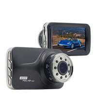 Wholesale Recording Chip - 9 IR Lights Good Night Vision Car DVR with Novatek 96223 Chip 1920*1080P WDR G-Sensor HDMI Dash Cam Video Recorder