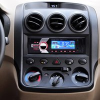 Wholesale X Radio Tuner - Car In-Dash FM Car Input Receiver Stereo 50W x 4 LCD Display SD USB MP3 WMA Radio Player CAU_01E
