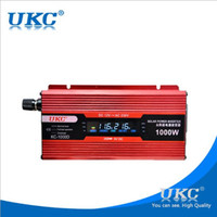 Wholesale Ac Dc12v - 1000W Car Modified Sine Wave Power Inverter Converter Charger Car DC12V to AC 220v Converter USB Cigarette Lighter
