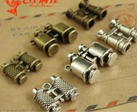Wholesale Manufacturer Key - Manufacturers supply zinc alloy metal accessories, retro silver telescope charms and brass pendants, key rings gifts wholesale