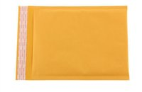 Wholesale Mini Padded Envelope - mini order 100pcs small size Kraft Bubble Mailers Envelopes Wrap Bags Padded Envelope Mail Packing Pouch