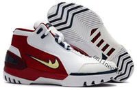 Wholesale 1st Edition - High Quality Classic Zoom Generation James 1st Game Retro Mens Basketball Shoes Retros 1 Limited Edition Lebro 1 Sport Sneakers Size 40-46