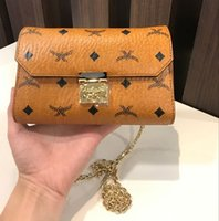 Wholesale Envelope Bag Clutch Fashion Vintage - Fashion Women Shoulder Bag Brand Designer Messenger Bag Genuine Leather Brown Clutch Bag Handbag Small Medium Size