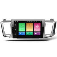 "toyota radio android Australia - 10.2"" Octa-Core Android 6.0 System Car DVD For Toyota RAV4 2012-2016 GPS Navi Radio 2G RAM 32G ROM WIFI 4G Netowrk RDS Mirror Screen OBD DVR"