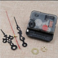 Wholesale Second Hand Parts - 668 New Arrive Quality Quartz Clock Movement Mechanism Parts Tool Set with Red Second Hands Silence Accessories Clock 5.5*5.5cm
