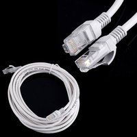 Wholesale 100pcs m m m m RJ45 to RJ45 Lan CAT5 Cable Ethernet Patch Link Network Lan Cable white DHL free