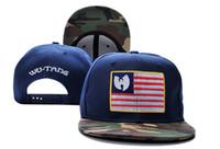 Wholesale Hiphop Hat Usa - WU TANG usa flag camo leather Hat Baseball HipHop Snapback Sport Cap Men Women Adjustable Cheap Bone Aba Reta
