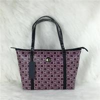 Wholesale Good Quality Handbag Brands - Free Shippiing - good quality women new 2017 T brand designer solid color pu leather plaid letter shoulder bag handbag