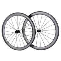 Wholesale Straight Pull Spokes - Hongtan SuperLite Straight Pull 700C Road Carbon 50mm Clincher Light Bicycle Wheels SL50C-W Pillar 1420 Spoke