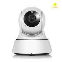 Wholesale Ccd Wifi Ip Cameras - Home Security Wireless Mini IP Camera Surveillance Camera Wifi 720P Night Vision CCTV Camera Baby Monitor