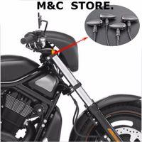 indicador preto venda por atacado-Bala piscam a luz indicadora dos sinais para Harley Mini SportsterBobber Chopper Black Metal 4Pcs / 2Pcs