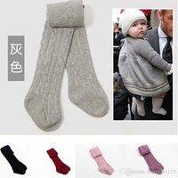 Wholesale Autumn Leggings - 6 colors Popular Baby Pants Baby Girls Cotton Leggings Spring Autumn Pants Wear Children's Leggings & Tights