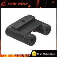 Lasers Au Glock Pas Cher-Tactical Steel Rear Sight Laser Spot Point Laser Rouge pour tous les pistolets Glock Series Chasse Scope Laser Sight