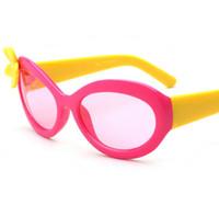 Wholesale Birthday Sunglasses - Birthday gifts for girls flower sunglasses for girls children decoration kids girls sunglasses kids plastic frame sunglasses in stock