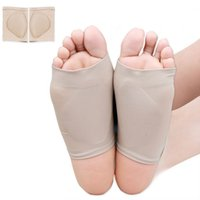 Wholesale Flat Feet Pain - 2pcs Massage Arch support Orthotic Pad Insoles Pain Relief supports flat feet flatfoot corrective shank filler High Quality