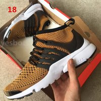 Wholesale Best Low Cut Casual Shoes - 2017 best Presto Ultra Olympic BR QS Women Men Running Shoes NAVY RED GOLD Fashion Casual Walking Airs Sports Sneakers Size 36-46