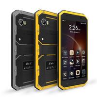 смартфон сотовые телефоны оптовых-W9 6.0 дюймов IP68 4G водонепроницаемый противоударный мобильный сотовый телефон Android 5.1 MTK6753 Окта ядро 2 ГБ 16 ГБ 1920*1080 13.0 MP смартфон