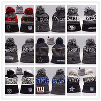 Wholesale Snapbacks Knit - Good Sale Beanies Hats American Football 32 team Beanies Sports Beanie Knitted Hats drop shippping Snapbacks Hats album offered