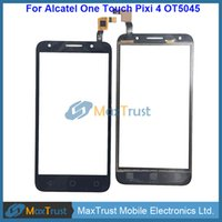 Wholesale alcatel 4g for sale - Group buy Top Quality quot For Alcatel Pixi G LTE OT5045 A D G X Touch Screen Digitizer Front Panel Sensor