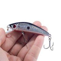 Wholesale Trolling Hard Fishing Lures - Lifelike Minnow Fishing Lure 7CM 8.5G 6# Hooks Fish Wobbler Tackle Crankbait Artificial Hard Bait Swimbait Soft bait