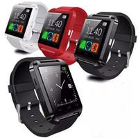 Wholesale sports watches altimeter online - U8 Smart Watch Fashion Sport Watch U8 Bluetooth Smartwatch with Altimeter for iOS Android Phone U8 DZ09 U80 Smartwatch