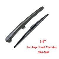 Wholesale Rear Windshield Wiper Arm - 2pcs set 14'' 350mm Car Windscreen Wipers Rear Windshield Wiper Rear Wiper Arm And Blade For Jeep Grand Cherokee 2006-2009