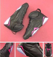 GS Hyper Pink Retro 7s Black Pink Com Caixa Atacado Best AAA Quality Basketball Shoes Men Size Fast shipping