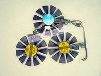 Wholesale Graphic Card Sleeves - Original Graphics cards cooling fan for ASUS STRIX-RX480-O8G-GAMING STRIX-GTX1060-O6G-GAMING GTX1070 GTX1080 PLD09210S12M PLD09210S12HH