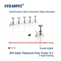 Wholesale Violin Polish - Wholesale- STRADPET Hill Style Titanium FineTuner 3.1 in High Polishing For Professional Violin Makers, Red Mark