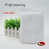 Wholesale Self Seal Bag 19cm - 13*19cm PE Clear Plasti bag gift Packaging bags for necklace jewelry ziplock clear self seal Thicker bags. Spot 100  package