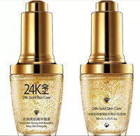 Wholesale Gold Cream For Face - BIOAQUA 24K Gold Face Cream Moisturizing 24 K Gold Day Cream Hydrating 24K Gold Essence Serum For Women Face Skin Care