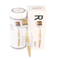 Wholesale Titanium Derma Skin - Best ZGTS Derma Roller Titanium Micro Needle Skin Acne Scar Wrinkle Anti Ageing