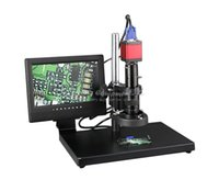 Wholesale Russian Microscope - russian free taxes L130-A professional digital electronic video CCD microscope and repair industrial manufacturing and testi