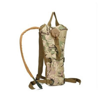 Wholesale Camo Hydration Backpacks - 3L Portable Hydration Packs Camo Tactical Bike Bicycle Camel Water Bladder bag Assault Backpack Camping Hiking Pouch Water Bag