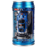 Wholesale Electric Toy Racing Cars - Wholesale-1 63 Coke Can Mini RC Car carro speed truck Radio Remote Control Micro Racing Vehicle carrinho de controle Electric Toy HOT