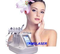 Wholesale Aqua Dermabrasion - 5 in 1 water jet peel facial water evaporation facial skin care machine diy cleaning spa dermabrasion machine aqua peeling