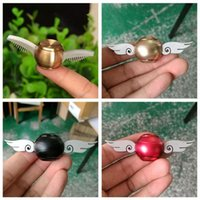 Wholesale Dhgate Kids - Generation 2 1 Hand Spinner Cupid Wing Golden Snitch Harry Potter Fans Fidget Spinner Hand EDC ADHD Copper Fidget DHL DHgate Cheapest