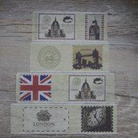 Wholesale Culture Masks - Wholesale- 2016 2017 New 1x British Culture London Landmark Stamp Union Jack Japanese Washi Tape Scrapbooking Tools Decorative Masking Tap