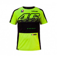 Wholesale Vr Shirt - Free shipping 2017 for Rossi MOTOGP Racing Team VR46 T-Shirt Summer Motorcycle T-Shirt Casual Motorbike VR 46 T-shirt