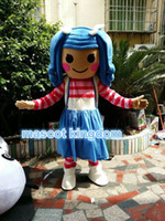Wholesale Lalaloopsy Costumes Adults - Best lalaloopsy girl Mascot Costume Cartoon Fancy Dress Free Shipping Adult Size
