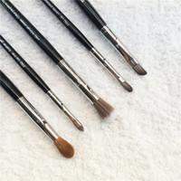 Wholesale Eyeshadow Gels - SEP PRO Lip Brush 81 84 Gel Liner 26 Airbrush Crease 31 Tapered Crease 19 Eyeshadow Brush - Beauty Cosmetics Makeup Brushes Blender Tool