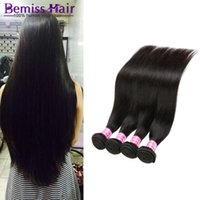 Wholesale Straight Indian Hair For Sale - Brazilian Hair 4 Bundles For Sales High Quality Products Peruvian Wet And Wavy Human Hair Straight Jewelry Wholesale 8---26 Inch Mixed Sizes