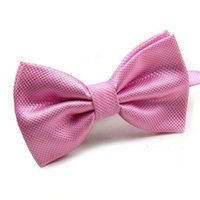 Wholesale Cheap Wedding Ties - Mantieqingway Novelty Wedding Party Polyester Bowtie Noeud Papillon Men Women Bow Tie Solid Color Bolo Neckwear Cheap Cravat