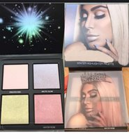 Wholesale Wholesale Waterproof Winter Wear - NEW MAKEUP BEAUTY Winter Solstice NEW MAKEUP BEAUTY Winter Solstice Highlighter Palette Glow Kit 4 colors highlighters DHL Free shipping