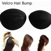 Wholesale Hair Pin Bump - Wholesale- 2 Pcs Lot Hair Base Bump Styling Insert Tool Volume Bumpit Princess Base Insert updo BB petit pin Styling Tools