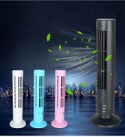 Wholesale Computer Tower Cooler - 5V 0.5A Portable Mini USB 2.0 Bladeless No Leaf Cooling Cooler Fan Desk Tower Home Office Fan for PC Computer Laptop