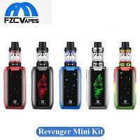 Wholesale Led Kit Red Blue - Authentic Vaporesso Revenger Mini 85W Starter Kit 2ml 3.5ml with LED Light 2500mah E Cigarette Vape Kit 100% Original