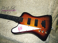 New Arrival Chinese Bass 4 Strings mão esquerda Electric Bass Honey Burst Bass Guitar
